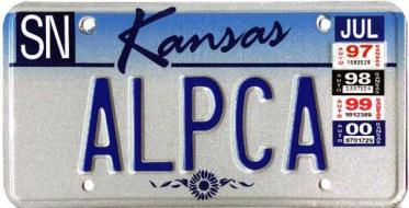 Kansas Licence Plates, Special and Vanity